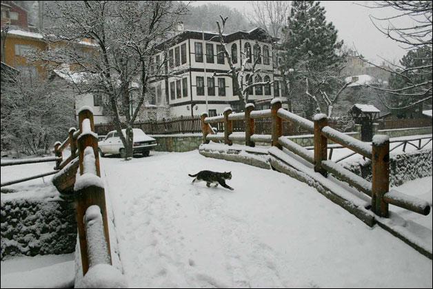 Mudurnu'da kış manzaraları